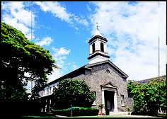 【Central Union Atherton Memorial Chapel(セントラルユニオン教会中聖堂)】
