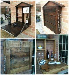Outdoor Pallet Furniture DIY ideas and tutorials2