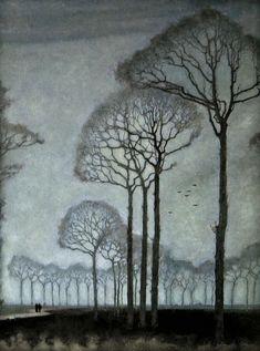 Jan Mankes, Row of Trees