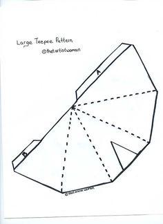 teepee pattern