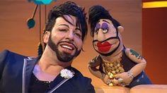 Harald Glööckler und Harald-Glööckler-Puppe; Rechte: WDR Fernsehen