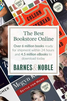 With over 6 million books and 4.5 million eBooks, Barnes & Noble is the best bookstore online!