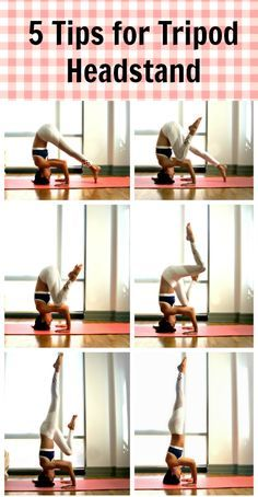 Step-by-step tutorial and tips for finding stability in Tripod #headstand.