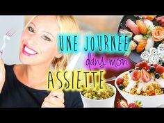 Une journee dans mon assiette - Mon alimentation équilibrée - YouTube
