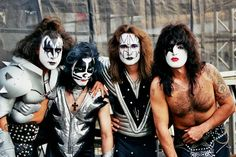 Kiss performing with Motley Crue and The Treatment at Shoreline Amphitheatre in Mountain View, CA on Wednesday, August 15th