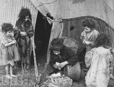 filthy Gypsy Children from Life Mag