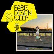Affiche de Paris Design Week 2013
