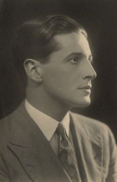 Composer and Actor Ivor Novello by Claude Harris, 1920s