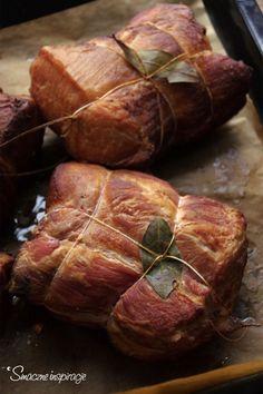 Polish Recipes, Polish Food, Smoking Meat, Charcuterie, Ham, Sausage, Grilling, Bacon, Pork
