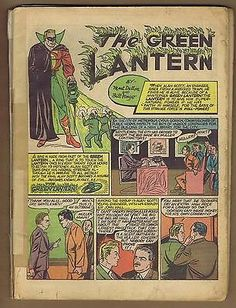 All American 17 (Coverless!) 2nd App. Green Lantern! Solid insides! (id# b0101)