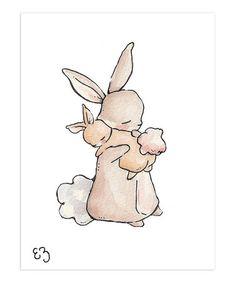 Look what I found on #zulily! My Baby Bunny Print #zulilyfinds