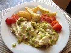 Fotorecept: Kuracie s pórom na smotane Guacamole, Mexican, Chicken, Ethnic Recipes, Food, Eten, Meals, Cubs, Kai