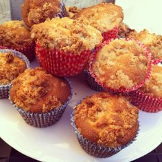 muffins | Apple Crumble Muffins