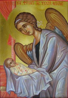 Orthodox icon of our Guardian Angel