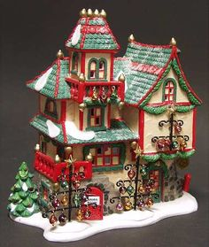 Glass Ornament Works Department 56 North Pole Series