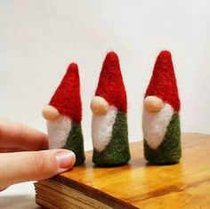 Needle Felting Tutorial. Norwegian Needle Felted Christmas Gnomes, Easy Beginners Felting Project. l*** INSTANT PDF DOWNLOAD *** This listing is for a downloadable, PDF tutorial ONLY. Full colour picture tutorial with written instructions on how to make a needle felted gnome, as shown in the picture. Easy to follow & suitable for beginners. In this tutorial I am using a 38 gauge star needle.