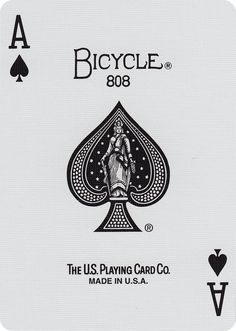 """First produced in 1894, the """"New Fan"""" back is one of the brand's most enduring back designs. For decades, this back was favored by card cheaters looking to secretly mark the backs. The 12 ribs of the"""