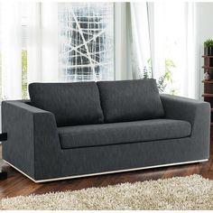 Click to zoom - Oban sofa bed dark grey