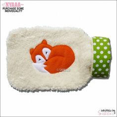 Most Wanted: Fox Hot Water Bottle Cover