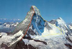 Zermatt, Mountain Climbing, Rock Climbing, Bergen, Great Places, Beautiful Places, Jungfraujoch, Largest Countries, Places Of Interest