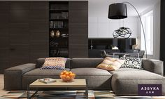 Дизайн интерьера квартиры, дома, коттеджа, помещений в Санкт-Петербурге — Азбука Дом » Дизайн квартиры в доме «Мегалит»
