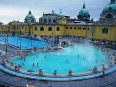 Geothermal Pools in Budapest - One of my favorite places from our trip!