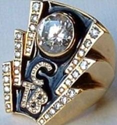 Elvis Presley's diamond 'TCB' ring