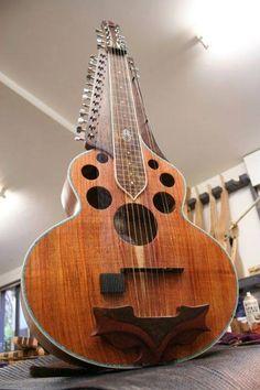 Mohan Veena sitar lap guitar
