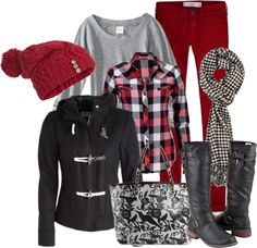 """""""Black and White and Red All Over"""" by stylesbyjoey on Polyvore"""