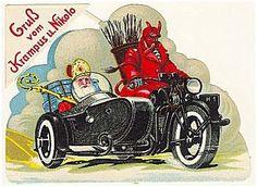 Krampus Postcard,1920s