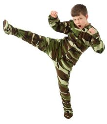 Big Feet Pajamas Green Camouflage Fleece One Piece Footy - SHOP https://www.thepajamacompany.com/kids-big-feet-pajamas-green-camouflage-fleece-one-piece-footy.html?category_id=5426