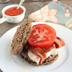 Low Carb Flax & Parmesan Burger Buns (Gluten Free) Recipe Breads with flax seed meal, eggs, grated parmesan cheese