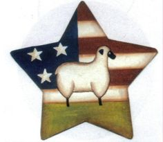 Metal Barn Star Sign Flag Sheep Country Kitchen Folk Art Retro Primitive Saltbox | eBay