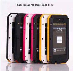 LunaTik Taktik for iPhone 5 Black Yellow New Arrival | eBay