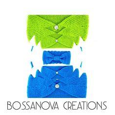 #bossanovacreations #crochet #crocheting #crochetaddict #loveit #handmade #hechoamano #ganchilloterapia #ganchillo #knittersofinstagram #knitting #knit #picoftheday #photooftheday #instagrammers #igers #igerscrochet #green #blue Headbands, Photo And Video, Crochet, Instagram, Fashion, Hand Made, Crocheting, Moda, Head Bands