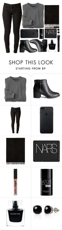 """""""Maybe IDK// Jon Bellion"""" by antisocial-vagabond ❤ liked on Polyvore featuring H&M, Harmony, NARS Cosmetics, NYX, Bourjois, Narciso Rodriguez, Belk & Co. and Givenchy"""