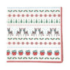 GreenGate Paper Napkin Bambi White Small 20 Pieces 25 x 25 cm Latte Cups, Tin Boxes, Jar Storage, Christmas Items, Paper Napkins, Bambi, Tea Towels, Gift Tags, Stoneware