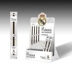 PULSERAS REAL MADRID