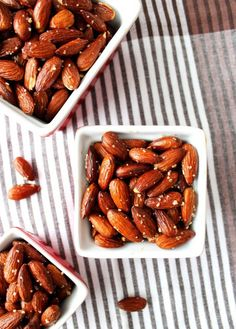These smoked paprika almonds are the perfect party appetizer.