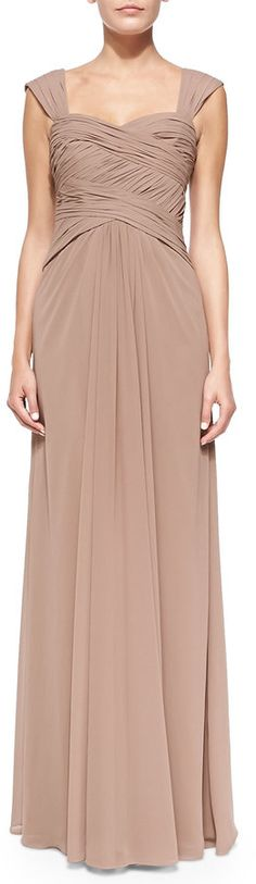 Bodice gown latte mother of the bride dress http www shopstyle com