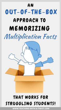 Learning Multiplication Facts, Math Facts, Teaching Math, Maths Classroom Displays, Math Classroom, Learning Websites For Kids, Kids Learning, Learning Disabilities, Multiple Disabilities