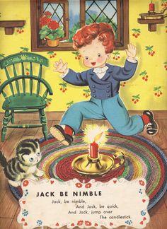 Two Crazy Crafters: Vintage Mother Goose Illustrations Vintage Children's Books, Vintage Cards, Vintage Stuff, Retro Vintage, Nursery Rymes, Nursery Rhymes Poems, Pomes, Vintage Nursery, Mother Goose