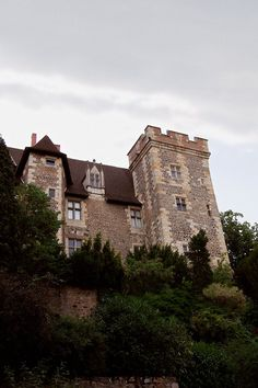 The castle of the dukes of Bourbon in Montlucon, Auvergne