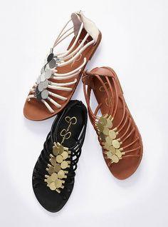 Gold Coin Sandal - Jessica Simpson® - Victoria's Secret