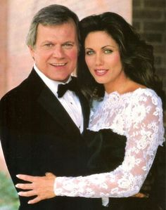 Cliff Barnes and Mandy Winger.