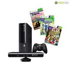 Microsoft Xbox 360 E 250GB Kinect Holiday Value Bundle with Games & Xbox Live Gold Membership @ NoMoreRack $315