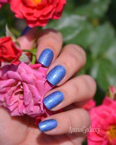 Anna Galaxy: El Corazon. Active Bio-gel Colour Gel Polish Лак для ногтей из серии Prisma № 423/26