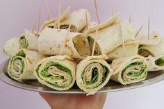 Party Wraps mit Frischkäse und Putenbrust, ein schönes Rezept aus der Kategorie Fingerfood. Bewertungen: 203. Durchschnitt: Ø 4,6.