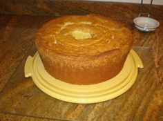This is the best pound cake ever!  The combination of the three flavorings is delicious.  For years I never shared this recipe with anyone because it was my signature dish for potlucks, funerals, parties, etc.