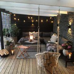 Gorgeous Backyard Patio Deck Design and Decor Ideas Inspiring You - Pergola Ideas Garden Room, Decor, Patio Design, Balcony Decor, Interior Garden, Living Decor, Home Decor, Backyard Decor, Room Decor